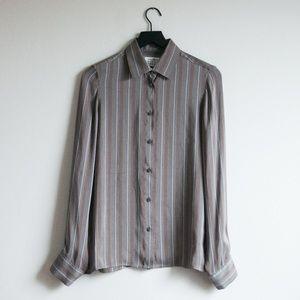 Maison Margiela 2015 Line 4 Long Sleeve Button Up